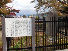 上杉謙信公祠堂跡  明治9年に上杉家御廟所に移されるまで、上杉謙信公の遺骸はここに埋葬されていました。