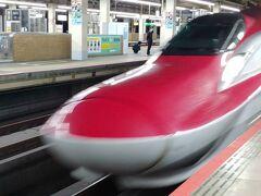 大宮 17:26到着 買い物をして 17:46函館北斗行きへ乗車します 上手に撮影 できました