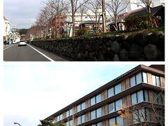 ナビに従って走っていると、なぜか鎌倉市街を通り抜け。。。 最初は鎌倉駅近にできた、メトロポリタンホテルに泊まってみたいなぁ~って思っていたんだけれど、動線的に鎌倉プリンスホテルが良いってことで、今回は立地重視でプリンスホテルにしたけれど、今度、鎌倉散策メインの時は、メトロポリタンに泊まりたいわ。