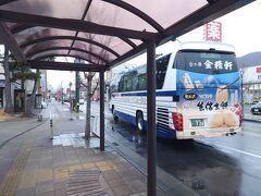 ★14:20 石和バス停に到着。近くのドラッグストアで飲み物を買い出し宿へ。