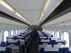 東京発7時過ぎの山形新幹線・「つばさ123号」で出発。 普段の土曜日ならとても混雑している列車ですが、この時期なので乗車率は3割程度。 コロナのおかげで鉄道会社は大変です。