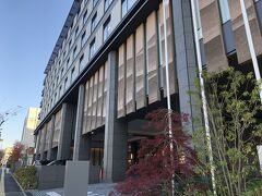 レンタカーを返して ぐるっとバスで 「奈良市庁」下車してすぐ  ここは 奈良で初めての外資系ホテル 「JWマリオットホテル奈良」