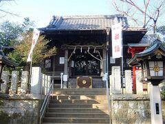 千束八幡神社の拝殿