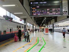 2020年11月19日、08:30、やってきました東京駅。今回は新幹線で仙台へ行きます。  今まで東海道新幹線、上越新幹線は乗ったことがありますが、東北新幹線は初めての乗車です。