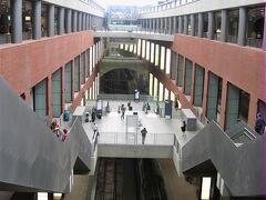 アントウェルペン中央駅の構内 Antwerpen-Centraal