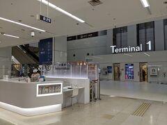 国内線第1ターミナルに到着。