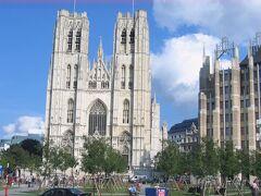 サン・ミッシェル大聖堂 Cathédrale des Sts Michel et Gudule, Bruxelles