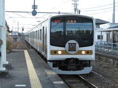 2020.12.26 鶴田 次の鶴田では「いろは電車」と行きかう。