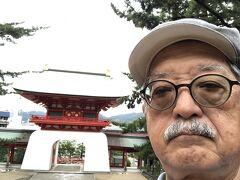 赤間神宮は壇ノ浦に沈んだ幼帝安徳天皇を祀る神社。 明治年間の廃仏毀釈運動で阿弥陀寺から神社に代わった。