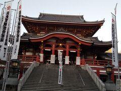 名古屋に戻り、初大須観音にお参り。 一度来てみたいと思っていたところです。