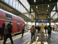 念願だった中世のマーケットを充分に楽みました! エスリンゲン14:19発の電車で、14時半過ぎ、シュトゥットガルトに戻ってきました。