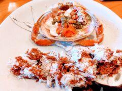 濃厚で旨味たっぷりな内子とプチプチの外子 香箱蟹は今まで食べた中で一番の絶品でした~! 大きなものを提供してくれたので3人で一杯でも十分満足 また食べたい香箱蟹との出会いでした