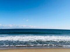 五浦海岸から平潟港へ向かう途中の海①