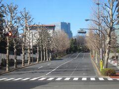 その手前にあるのは霞が関坂  と、、、さきほどから気にはなっていましたが、コロナ禍だからなのか、日曜日の官庁街だからなのかわからないけど、人歩いてないですねぇ ソーシャルディスタンスでの散歩にはもってこいだけど、あまりに人が歩いてなさすぎで気味が悪い ヨーロッパのように東京もロックダウンされているのかと思ってしまうほど