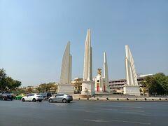 民主記念塔の横を通ったのでついでに撮影