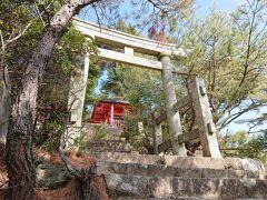 厳島神社の奥宮です