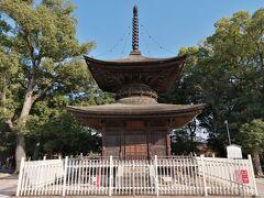 ドーン! 知立神社「多宝塔」。
