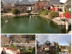 吉備津神社には小さな社もたくさんあります。ここは宇賀神社。一通り観光を済ませて井原駅へと向かいます。