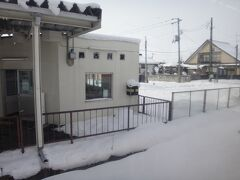 西古川。 だんだん雪の量が多くなって来たぞ。