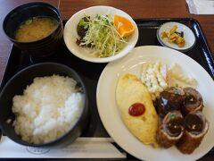 ●レストランハウス Carte  まよったので、日替わりランチにしました。 680円です。 コスパはいいと思います。