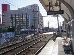 ●阪堺電車 石津北駅  天気の良い日の阪堺電車散歩でした。