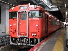 広島駅に戻ってきました。 広島11:05発 芸備線三次行1826Dに乗車。