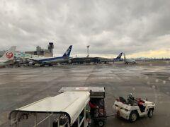 今回のホッピングツアーも早朝の伊丹空港からスタートです。これから伊丹ー鹿児島へとフライトします。写真の様に、現在の大阪の天気は曇りですが、他の場所はどうでしょうか。気になります。