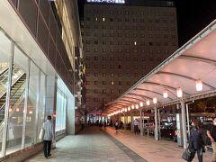宿はアクセス重視で鹿児島中央駅前のアービックというビジネスホテル。出張のビジネスマンが多いのか、チェックインがめっちゃ並んでました。