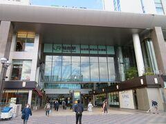 ホテルから歩いて数分のJR仙台駅東口へ。