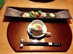 雪灯籠を観てきた後、夕食です。 個室でゆっくりのんびり食事ができました。