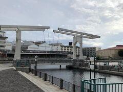 神戸ハーバーランド はね橋