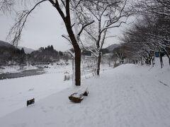 その後は諏訪峡沿いに続く遊歩道を、行けるところまで行ってみることに。