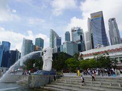 シンガポールと言えばここは外せません。 乗船前にはやっぱり定番スポットを観光するのがお薦め。