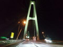 「名港トリトン」通過。愛知県に戻ってきました。 (終)