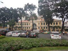 サイゴン大教会の向かいには中央郵便局がある。 いつも合わせて見学することにしている。