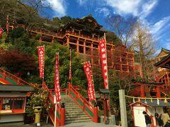 「祐徳稲荷神社」に立ち寄って佐賀空港から帰途につきます