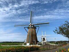 印旛沼のランドマーク 佐倉ふるさと広場のシンボル・オランダ風車「リーフデ」