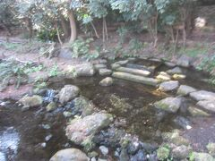 その脇にあるのが「お茶ノ水」 家康が鷹狩でこの辺りに来た時にお茶をたてるのに用いた湧水 現在は水が枯れてしまい、実は湧き水ではないそう
