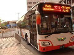 BRTとは「バス・ラピッド・トランジット / Bus Rapid Transit」の略 高鐵・嘉義駅から台鐵・嘉義駅は20分程度で到着します。