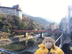 最後に箱根湯本の景色をパチリ。