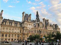 世界遺産「パリ市庁舎」 最初の市庁舎は1628年に完成。普仏戦争で炎上し、1892年に再建し現役。