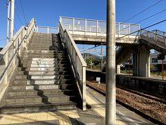 忠海駅の階段です。