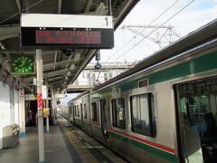 07:56 1時間10分で郡山駅着。福島は近い。 08:29 磐越西線に乗り換えトコトコと1時間11分、
