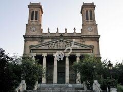 「サン・ヴァンサン・ド・ポール教会」 1844年に20年かけて完成したネオ・クラシックの教会。1660年にパリで亡くなった聖ヴァンサン・ド・ポールに捧げる教会。
