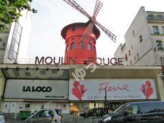 「ムーラン・ルージュ」 1889年に誕生したキャバレー。客席の定員数850名。フレンチカンカン発祥の地。入場にはドレスコード有。