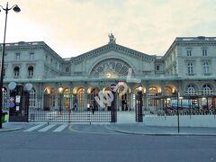 「パリ東駅」 パリの6大ターミナル駅の1つ。フランス東部、およびドイツ、スイス、ルクセンブルグなどに向かう列車がメイン。1849年 開業でパリで5番目に利用客の多い駅。