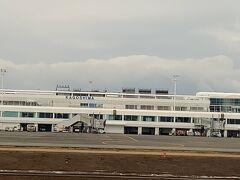鹿児島空港へと到着いたしました。
