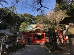 江島神社3宮の2つめ、中津宮。