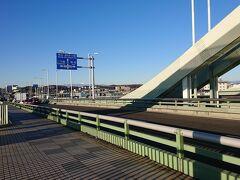 狛江にある「多摩水道橋」。