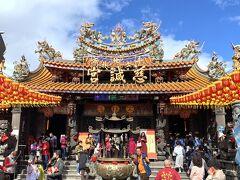 最後に訪れたのは、士林漳州人の媽祖信仰の中心地となっている慈諴宮。